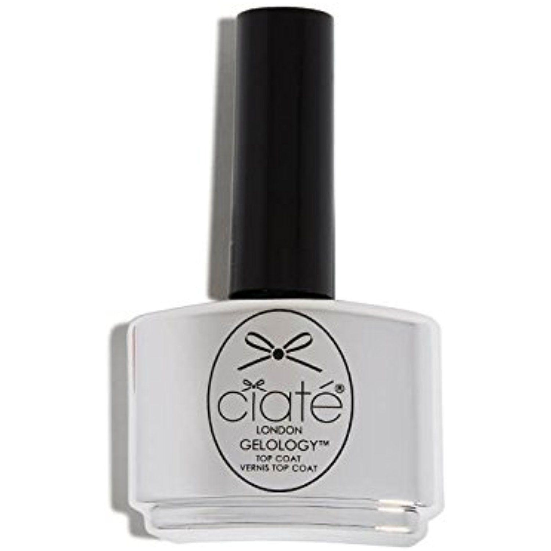 Ciate London Gelology Top Coat - Nail Polish - Shiny Gel Look - Full ...
