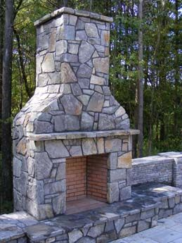 Bring Those Inside Elements Out An Outdoor Fireplace Adds Warmth To Your Patio And Gives You One More Reas Backyard Fireplace Outdoor Fireplace Outdoor Living