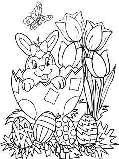 Kleurplaat Pasen Idea แต งบอร ด Pinterest Easter Easter