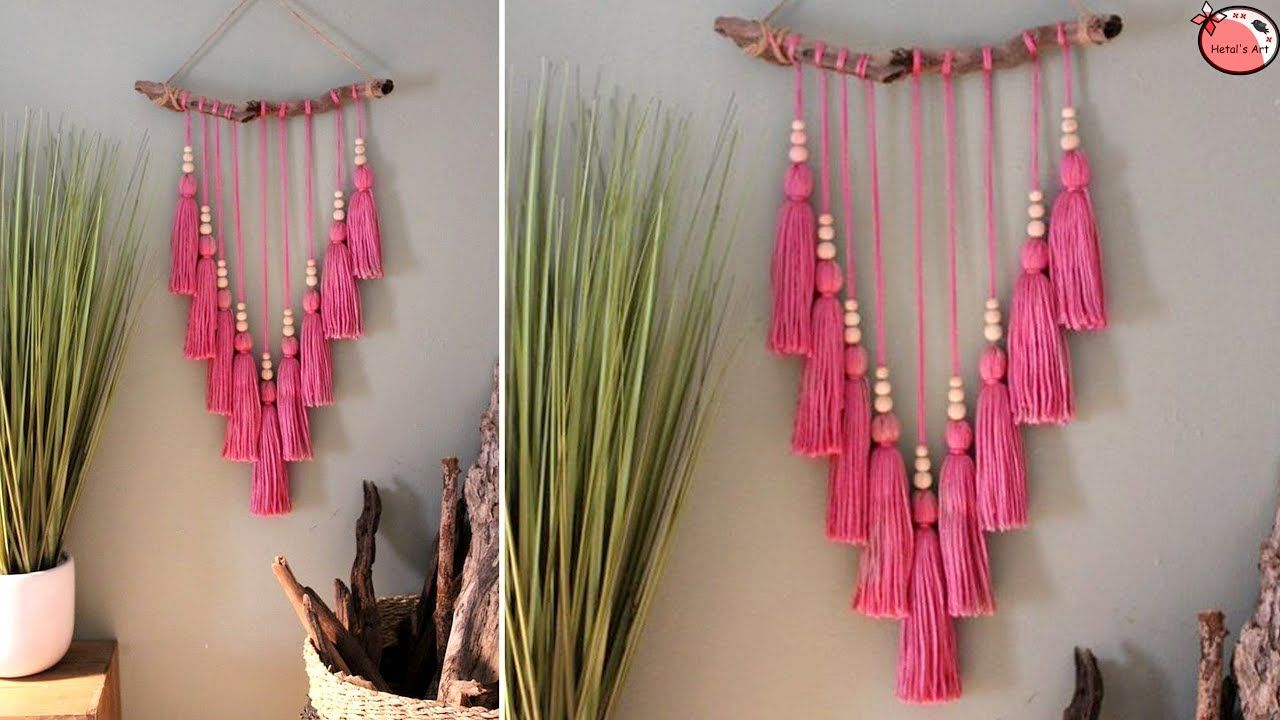 Very Easy Designer Wall Hanging Craft Ideas Handmade Things