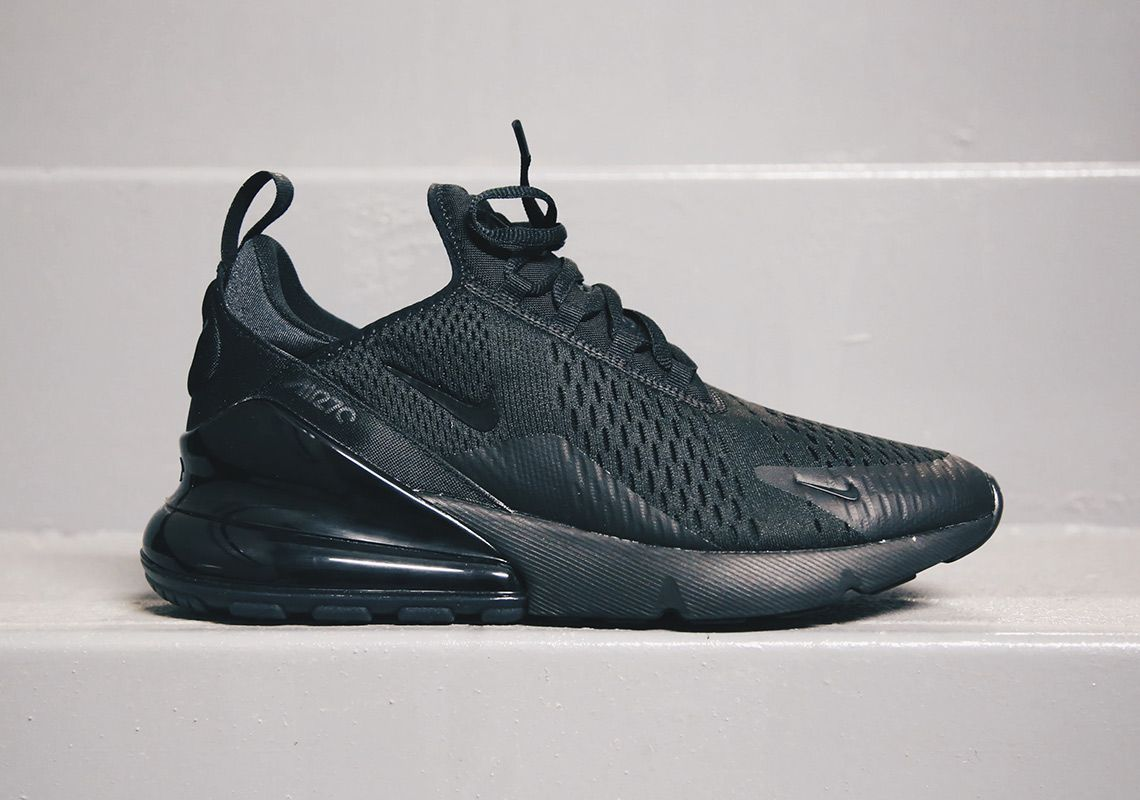 size 40 26327 ce843 Nike Air Max 270 Triple Black AH8050-005  SneakerNews.com