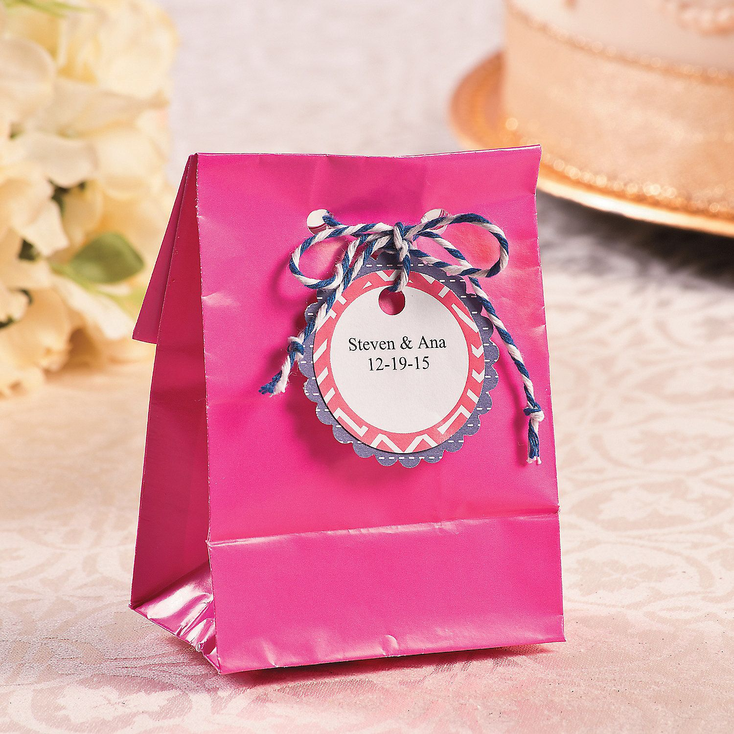 Wedding Favor Bag Printables with Twine | Looking for DIY wedding ...