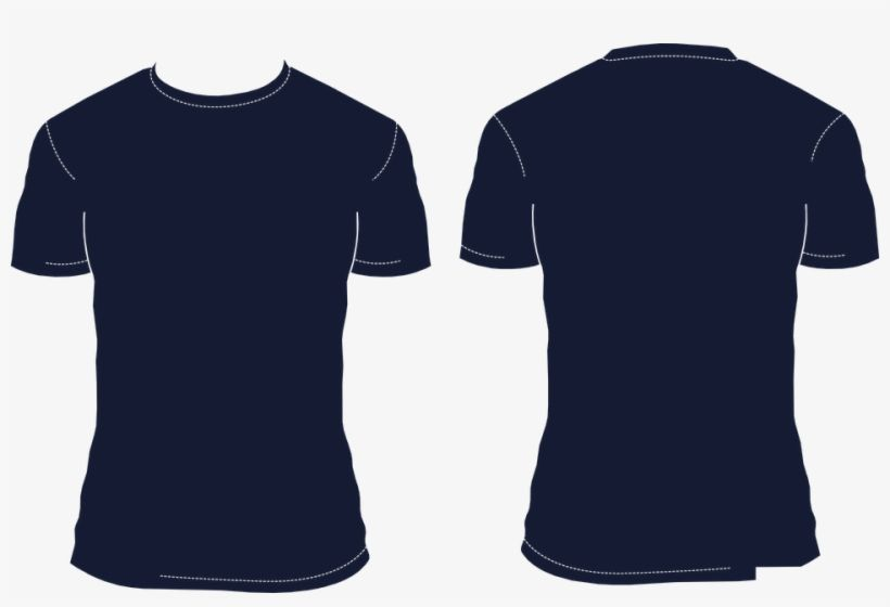 Download High Resolution Blank T Shirt Png Icon Navy Blue Shirt Template Transparent Png Download T Shirt Png Blank T Shirts Navy Blue Shirts