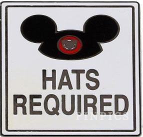 Pin 103381 Hats Required