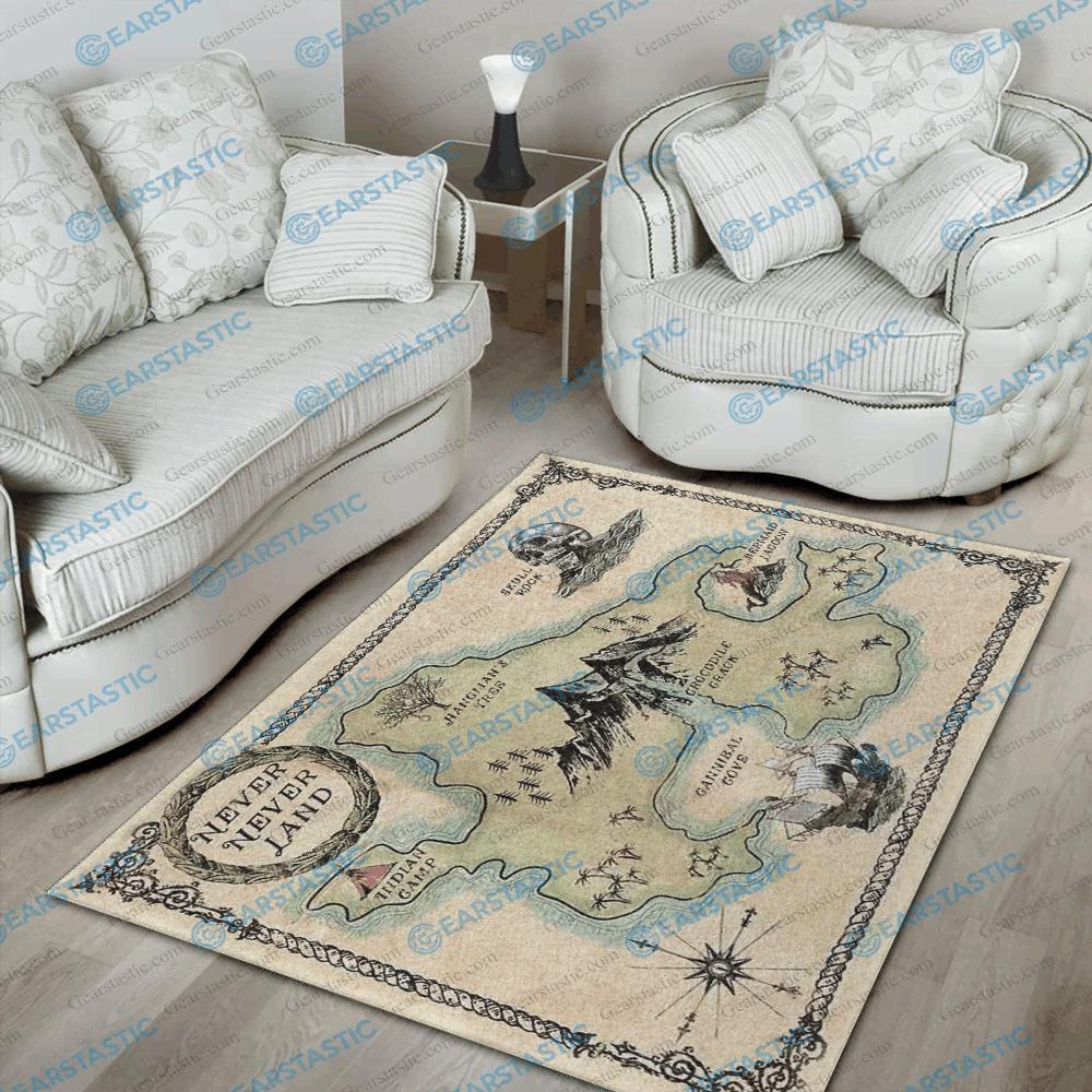 Peter Pan Area Rug Disney Floor Decor The Us Decor In 2020 Floor Decor Peter Pan House Warming Gifts