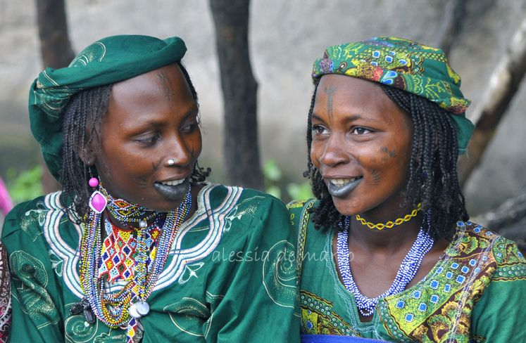 Africa   Bororo woman at the Rey Bouba market.  Cameroon.   © Allesia de Marco