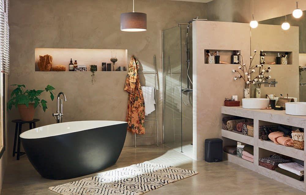 Tranquil Bathroom Design South Africa Blackbath