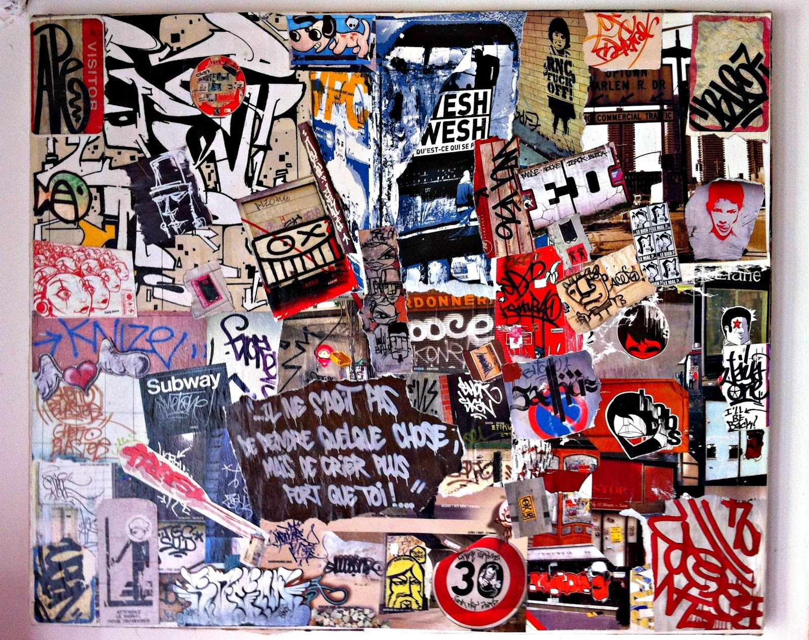 tableau style street art n 1 collage calligraphie asiatique pinterest. Black Bedroom Furniture Sets. Home Design Ideas