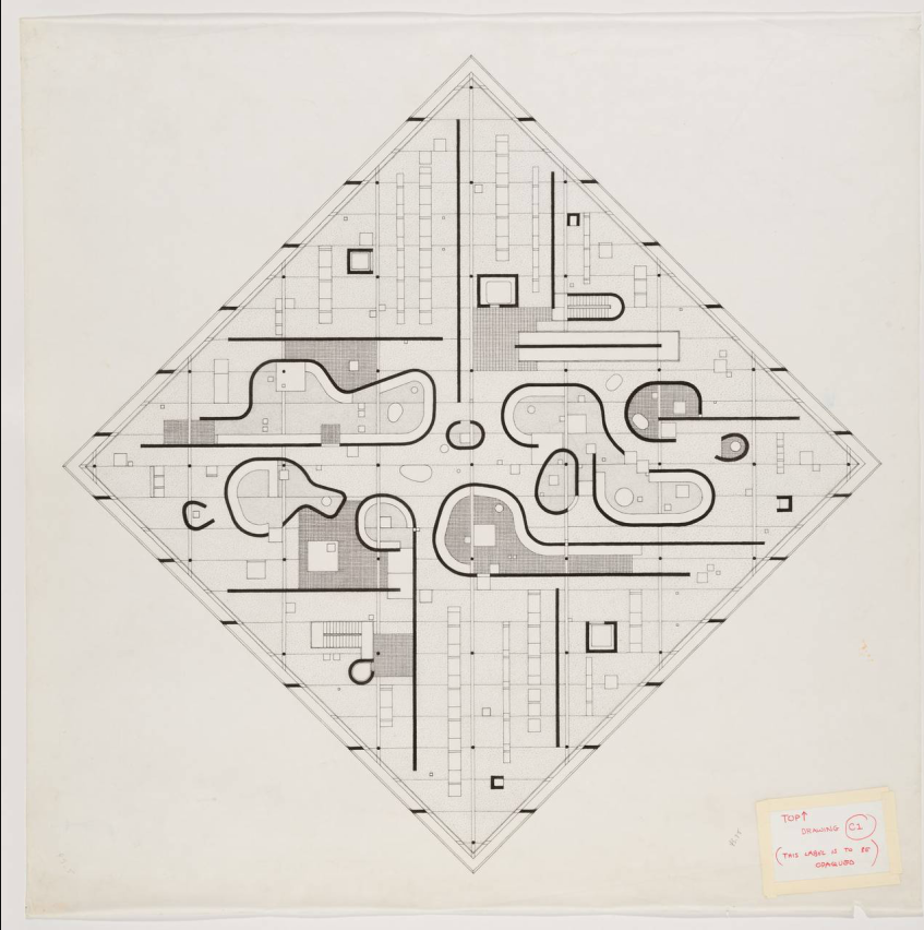 Plans Of Architecture Photo