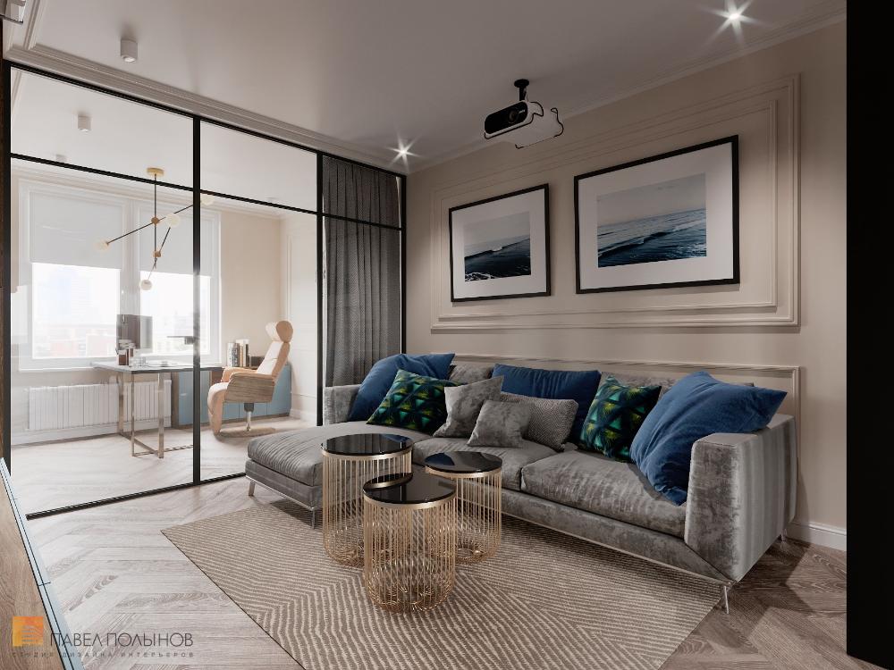 Фото интерьер гостиной из проекта «Дизайн интерьера ...