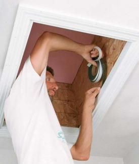 How To Insulate And Air Seal An Attic Hatch Home Insulation Attic Renovation Attic Flooring