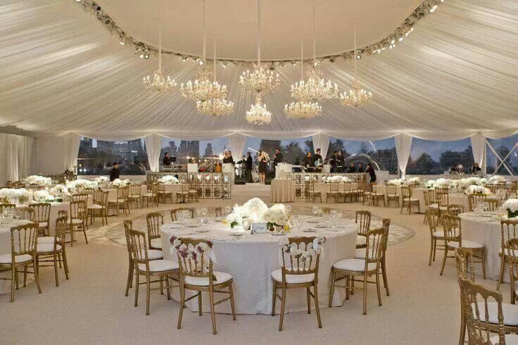 Wedding: Oval Marquee With Glass Sides/windows. Great