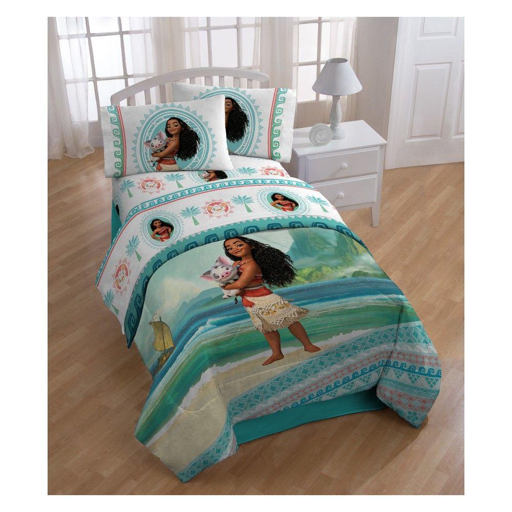 Disney Moana Sheet Set Full Sheet Sets Full Kids Bedding Bed In A Bag