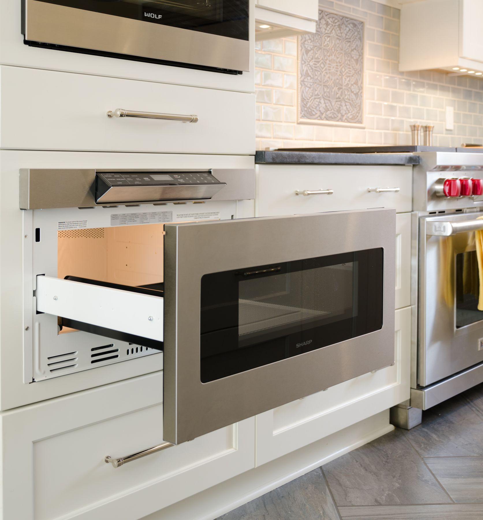 Sharp Microwave Drawer 24 Microwave Drawer Modern Kitchen