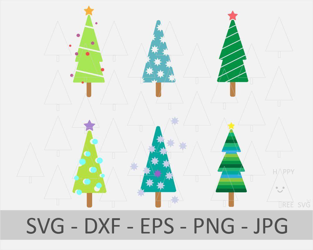 Christmas Tree Svg Retro Christmas Tree Christmas Svg Dxf Etsy Christmas Tree Clipart Retro Christmas Tree Tree Svg