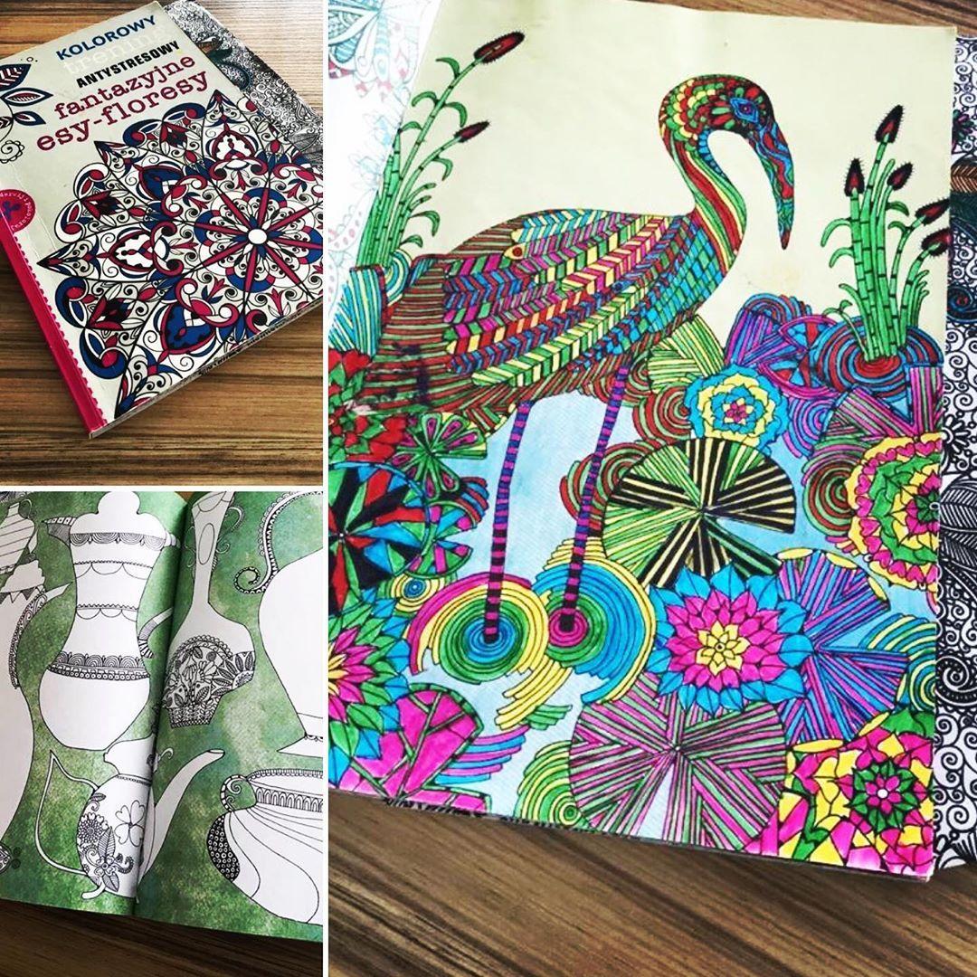 Natalia Panek Kilanowska On Instagram Wez Do Reki Kredki I Znajdz Wewnetrzna Harmonie Wszelkie Kolorowanki To Swietny Sposob Na Odstresowanie In 2020