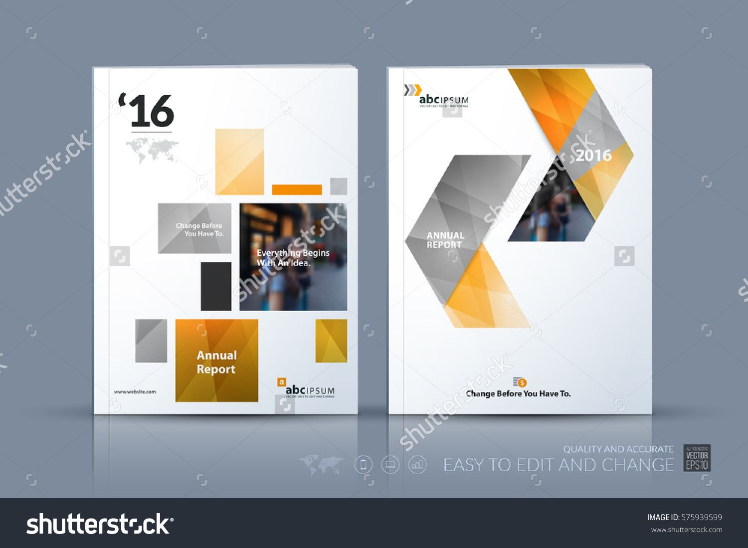 Business Vector Template Brochure Layout Cover Modern Design