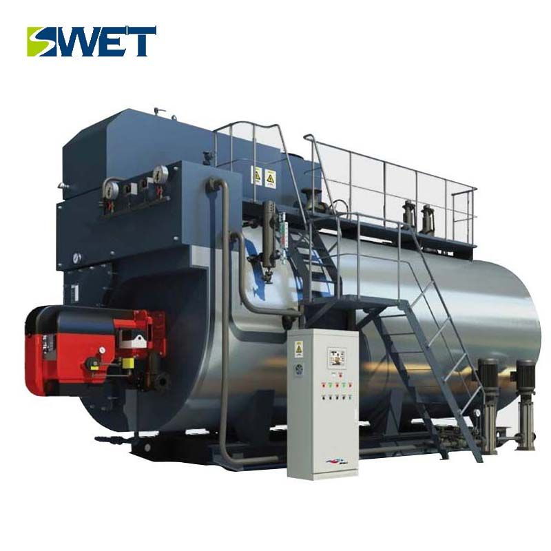 Horizontal Industrial Gas Oil Steam Boiler 4t/h for Heating ...