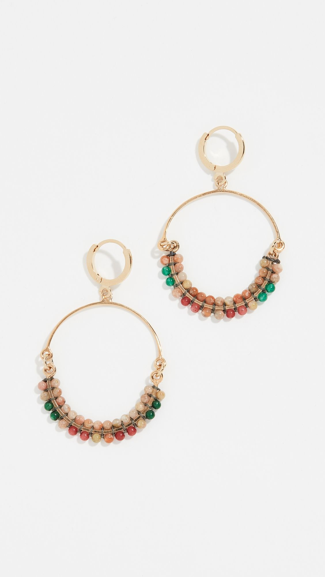 769bce7245e Isabel Marant Boucle Embellished Earrings | Products | Earrings ...