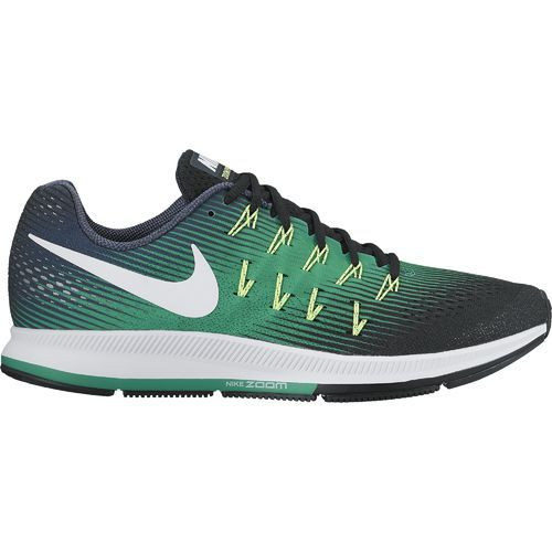 94f69bd13da4b3 Nike Men s Air Zoom Pegasus 33 Running Shoes (Armory Navy White Black  Stadium Green