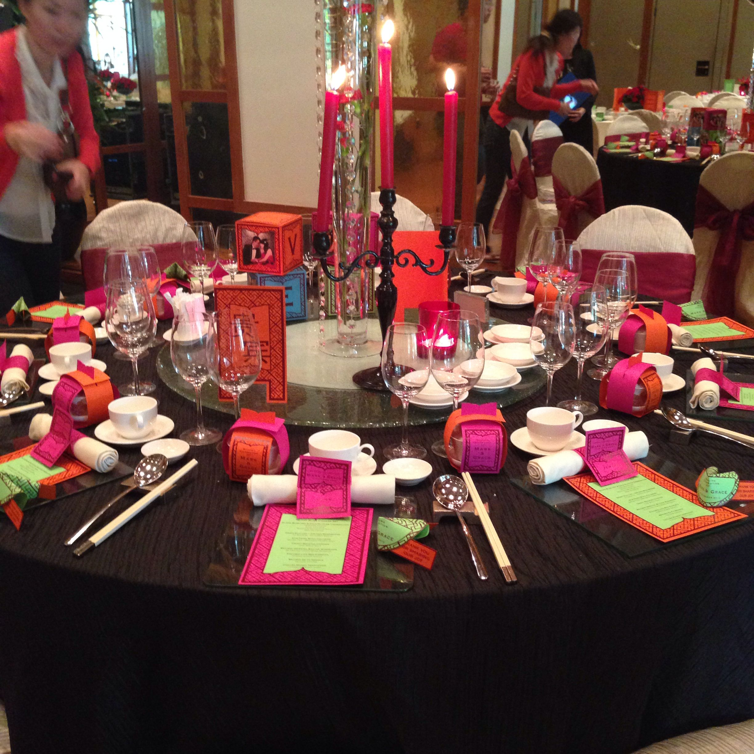 Decor Oriental Chic Oriental Chic Wedding Theme By The Sentosa A Beaufort Hotel