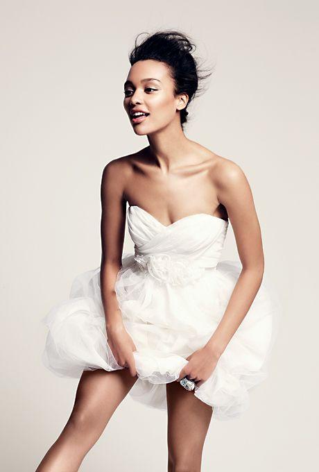 Short Wedding Dresses Made to Move | Vera wang wedding dresses ...