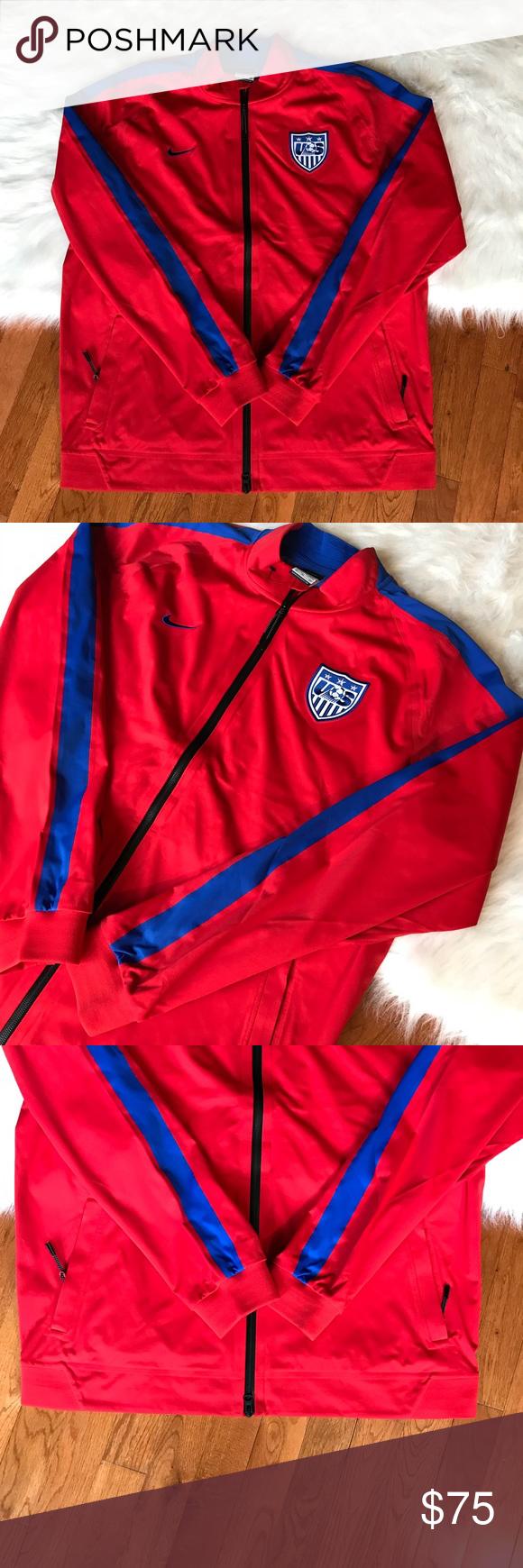 36b9e85ed Nike USA Men's Soccer National Team Track Jacket Brand new sz XL Nike  Jackets & Coats