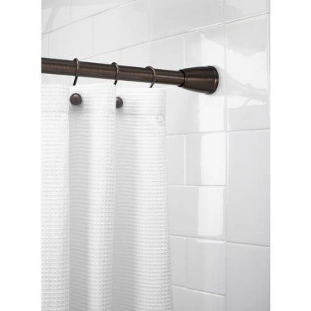 Better Homes And Gardens Tapered Ez Up Shower Curtain Rod Walmart Com Shower Curtain Rods Shower Curtain Better Homes And Gardens