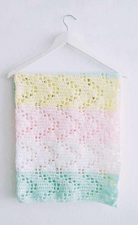 Hopscotch Crochet Blanket Pattern | Color