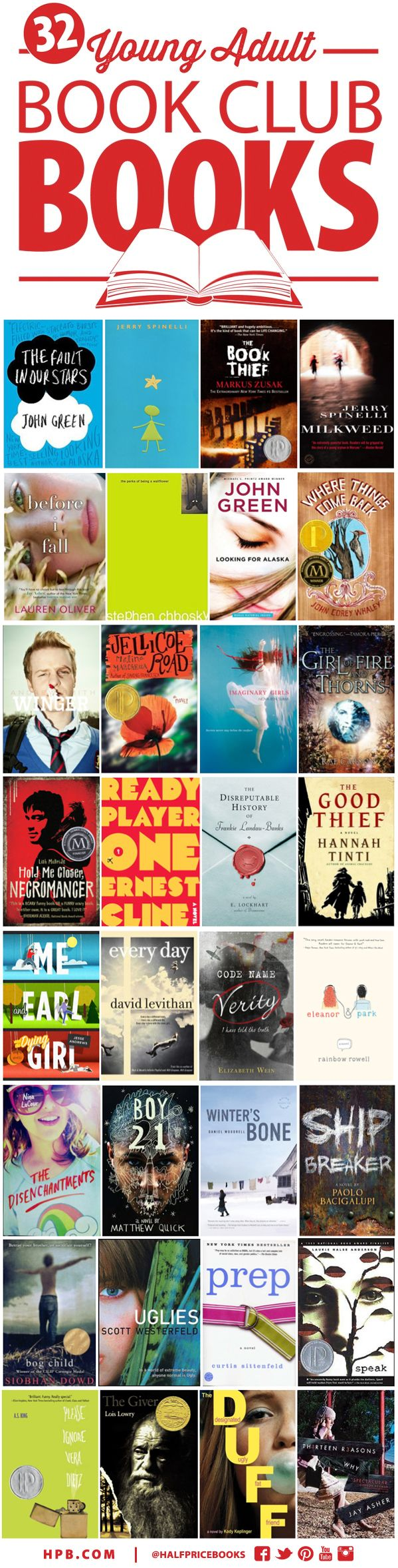 Best Young Adult Book Club Fiction  Book Club Books -2682