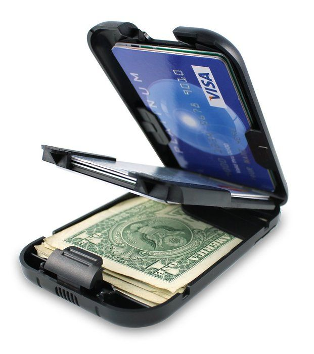 Mens US Dollar Bill Money PU Leather Bifold Card Holder Wallet Pocket Purse DP