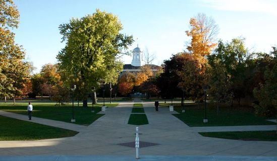 Lawrence University in Appleton, Wisconsin. Hayley is