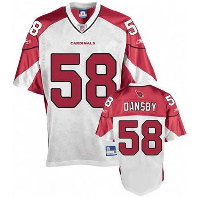 new product 517fc 636ef Karlos Dansby White Jersey $19.99 This jersey belongs to ...