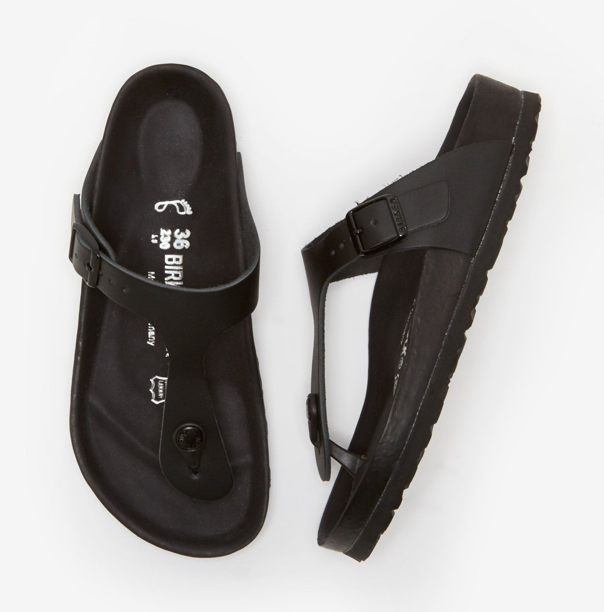 10f35671d7f8 Birkenstock Gizeh Exquisite in Black