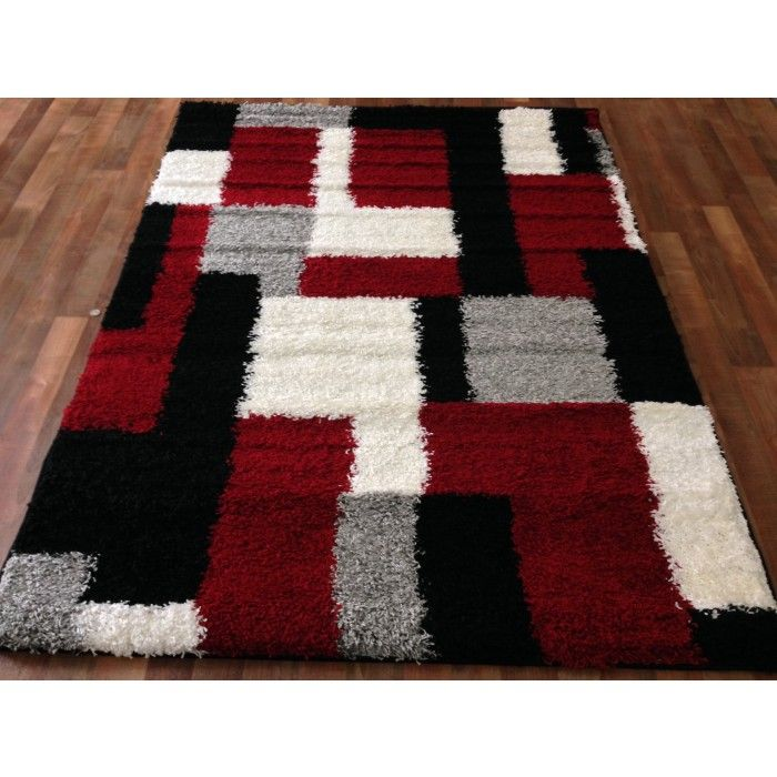 Black And Red Gy Rugs Flooring Can Be Used As A Means To Colorfully Highlight Any E In Your House