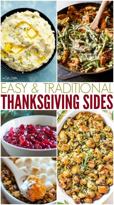 10 einfache und traditionelle Thanksgiving-Seiten