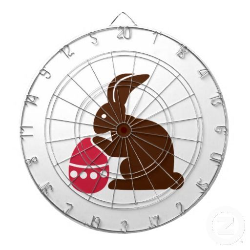 Bunny easter egg dart boards