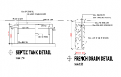 Septic Tank Structure Detail Septic Tank Structural Drawing How To Plan