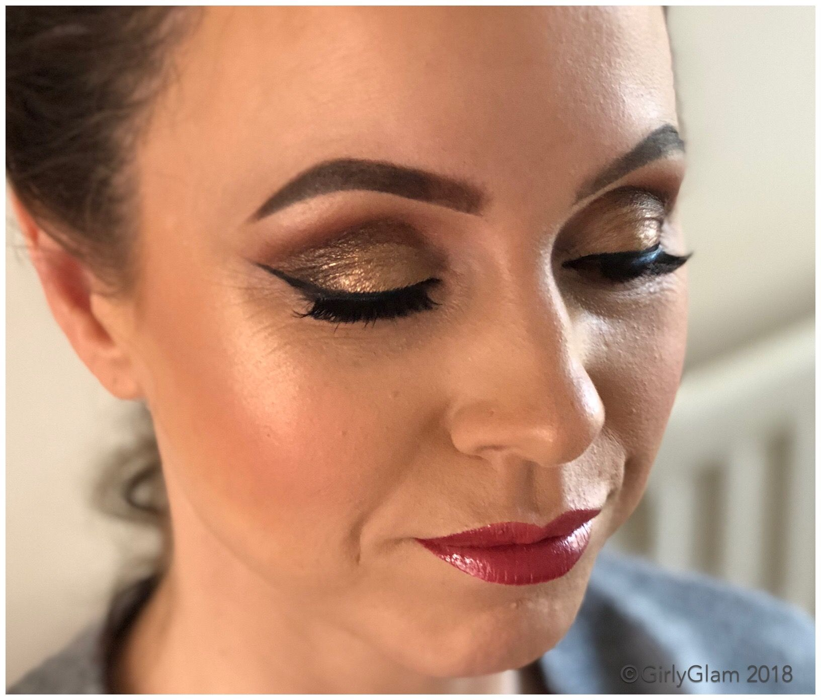 OutOut full on for this Glam makeup lover Kelly by Zoë