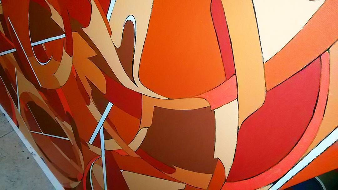 Brok#canvas#toile#atelier#studio#graffiti #graff #instagraff # urbanart #streetart #graffitiart#artwork#artcontemporain #artmodern #streetarteverywhere #paintings #painter #instamood #instagraffiti #instafollow #instago #3hc#tnb#instamood #graffitiwall #graffartists#graffitiporn #streetartparis #posca# by brok3hctnb