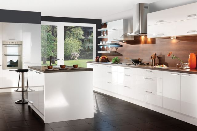 Ikea Kitchen White Gloss white gloss kitchen cabinets | parents' home | pinterest | gloss