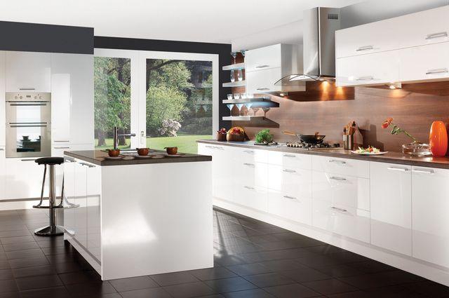Ikea Kitchen White Gloss white gloss kitchen cabinets | parents' home | pinterest | gloss