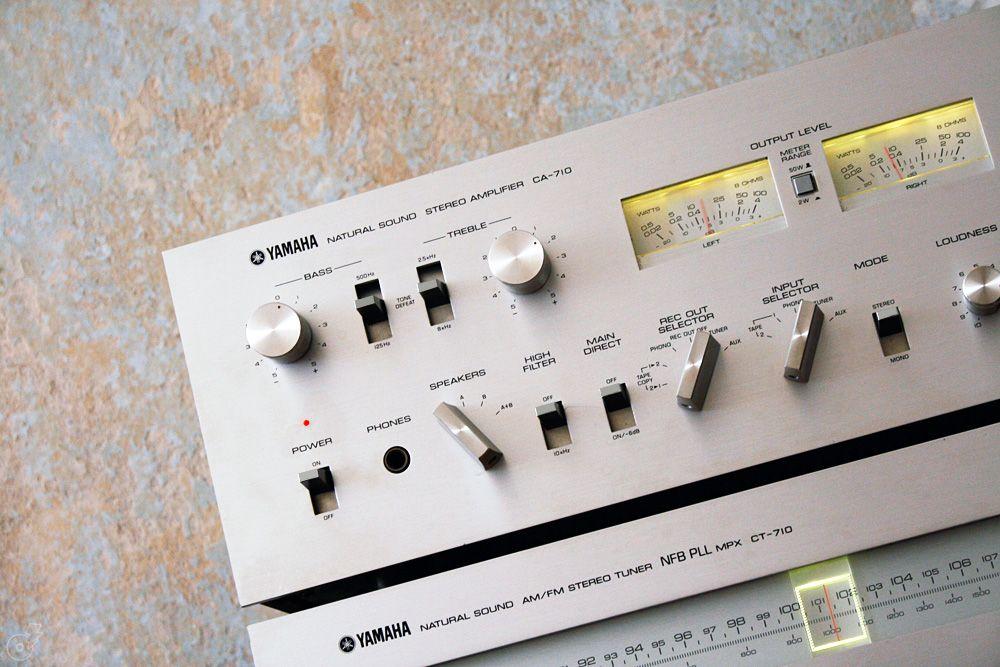 Hifi Vintage Of The 60 S 70 S Yamaha Ca 710 Ct 710 Amplifier Tuner Yamaha Audio Vintage Pro Audio Equipment