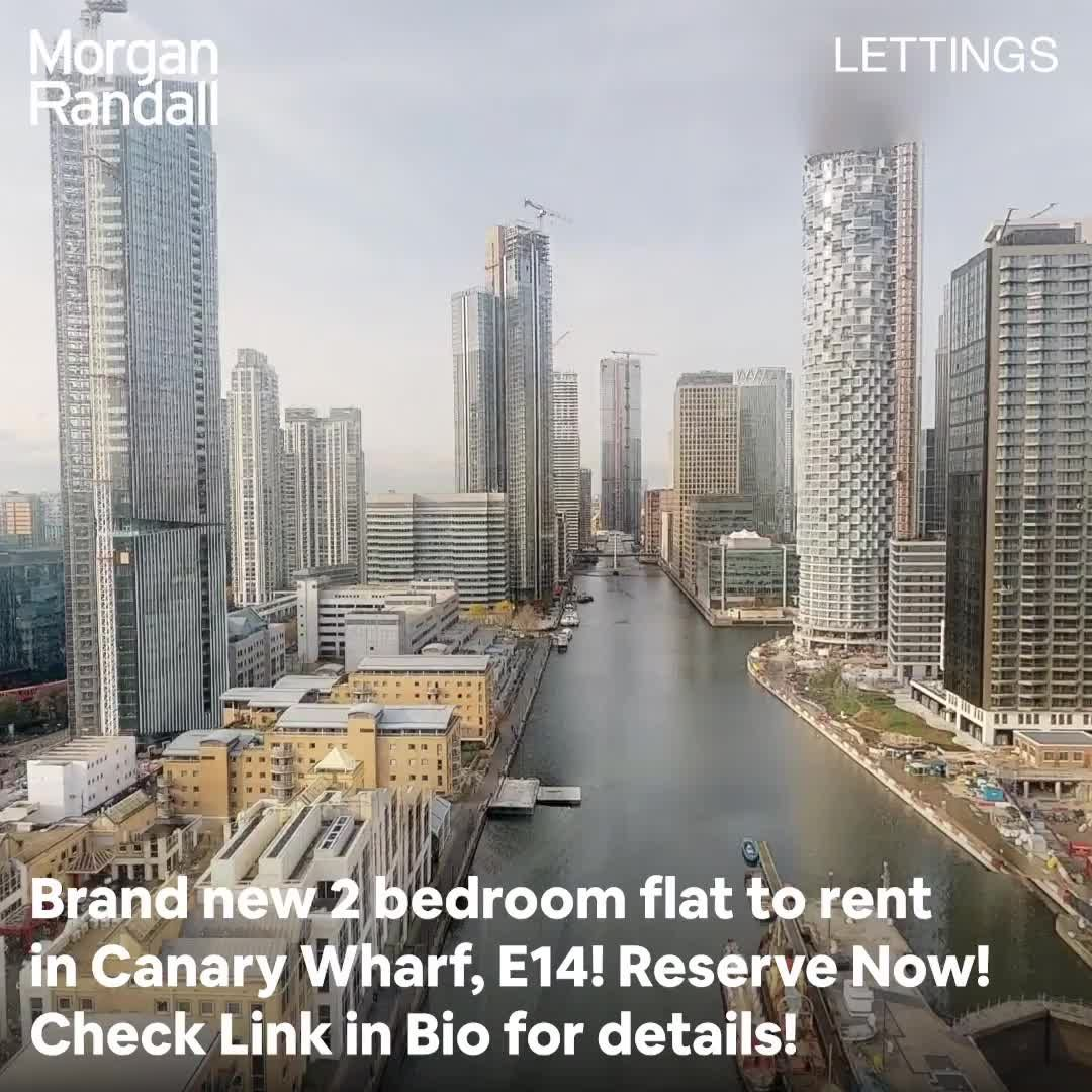 Brand New 2 Bedroom Flat To Rent In Canary Wharf London E14 Bedroom Brand Canary E14 Flat London Rent Wharf In 2020 Rent In London Property For Rent