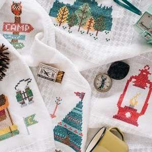 Cross Stitch DIY - Stitched Weekend Retreat Afghan
