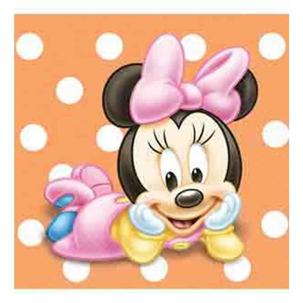 Minnie 1st Birthday Napkin (S) 16ct