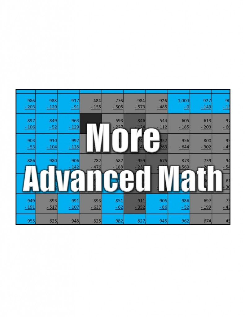 Advanced Math Coloring Squared In 2020 Math Coloring Free Math Math