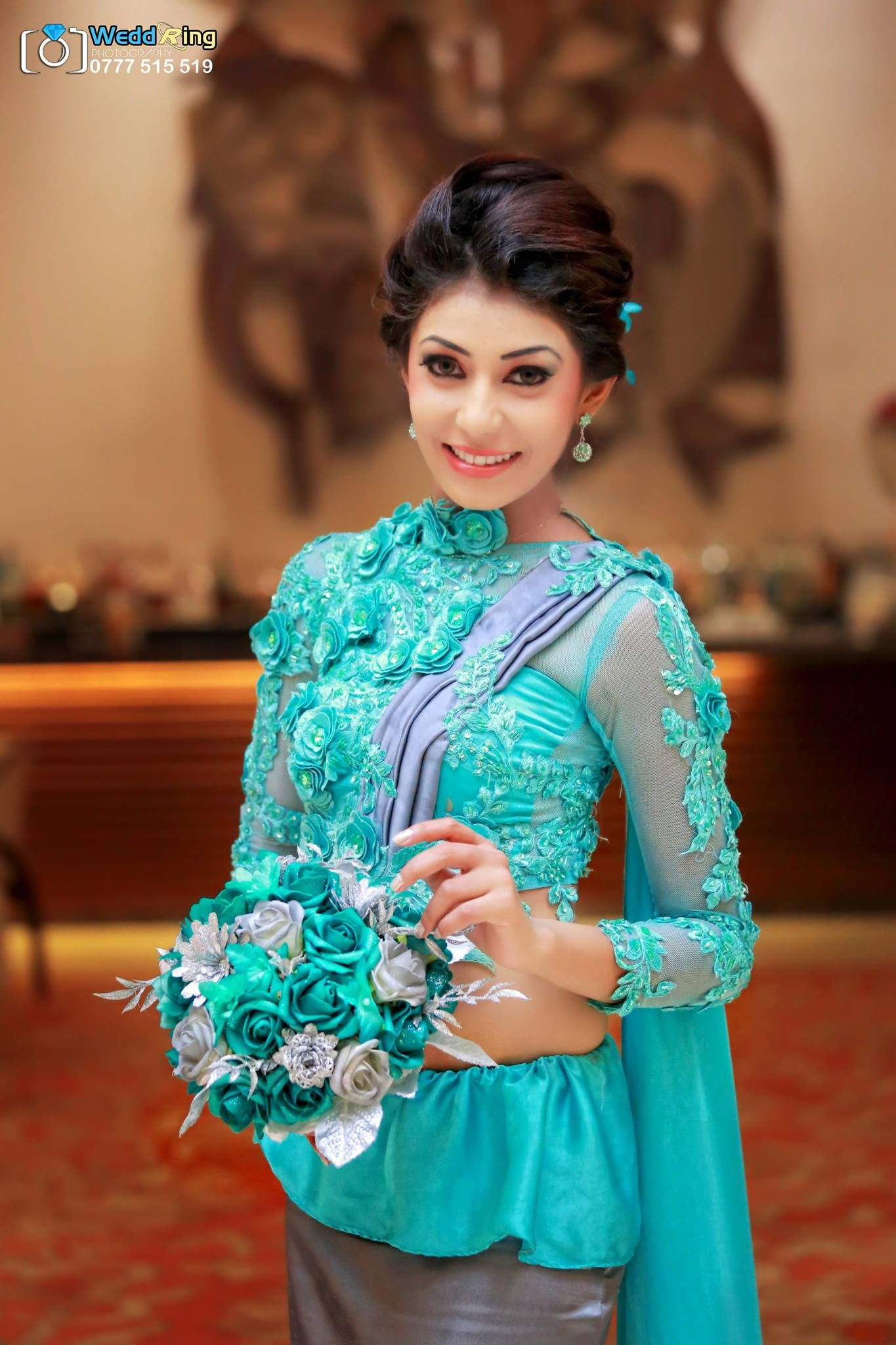 Sri Lankan bridesmaid | Saree B♥S | Pinterest | Saree, Blouse ...