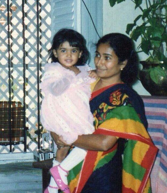 Image result for samantha akkineni childhood