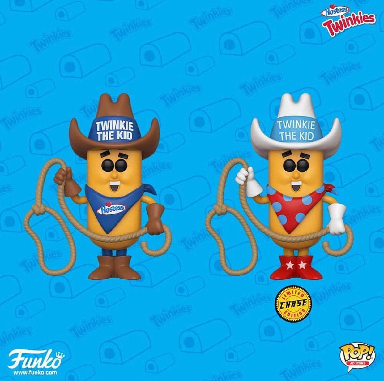 Funko Pop Ad Icons Hostess Twinkie the Kid Chase Set of